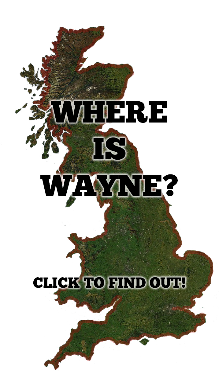 Where's Wayne?